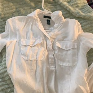 White Ralph Lauren shirt